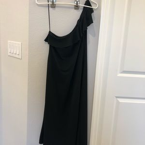 Jcrew one shoulder dress